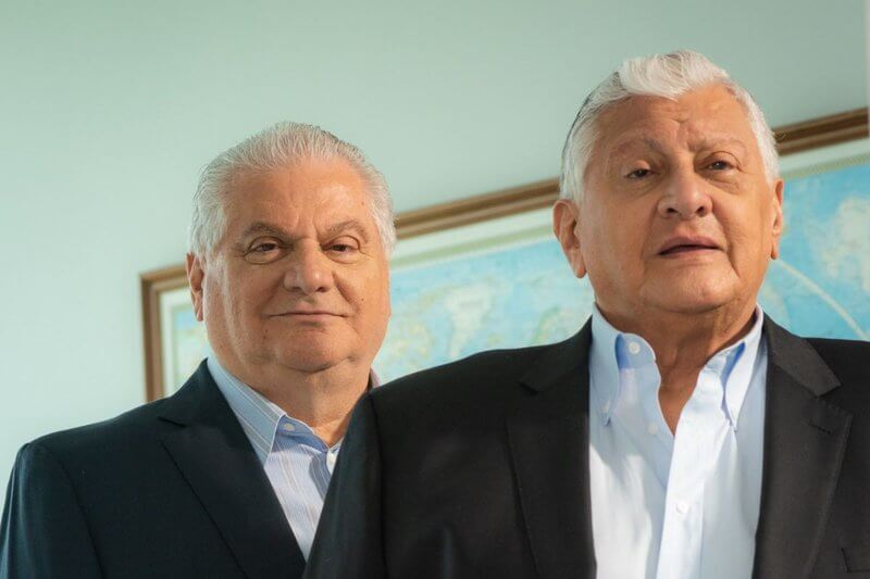 Roberto and William Isaias brothers